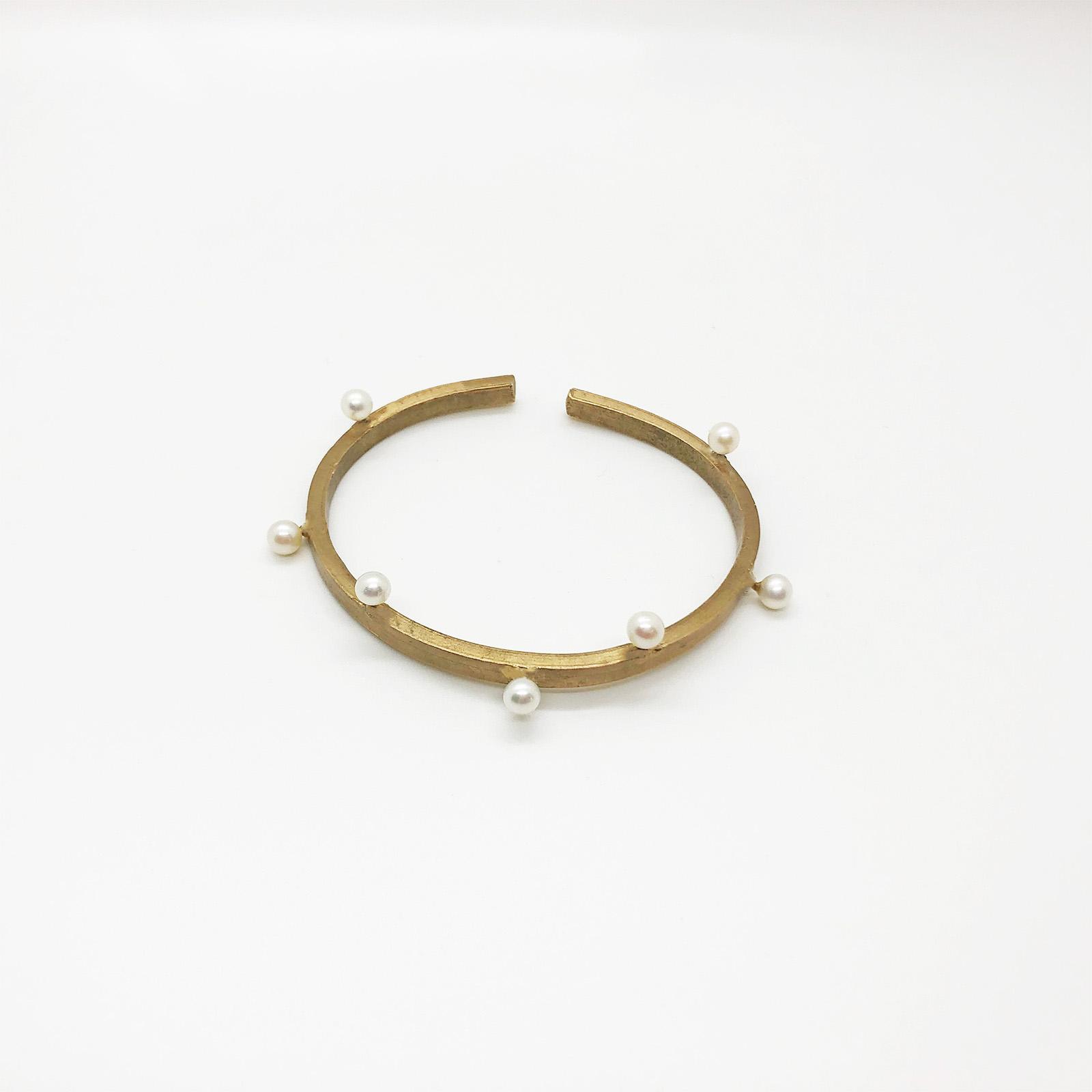 KristinaC - Bracciale Onde di perle